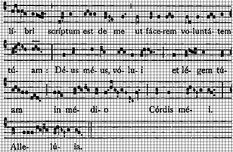 gregorianischer choral noten